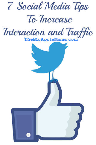7 Social Media Tips To Increase Interaction and Traffic