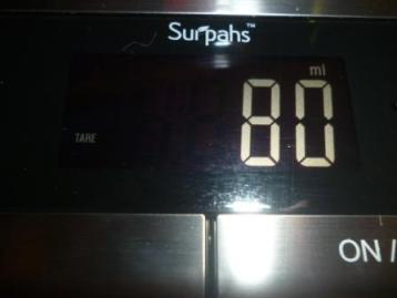 Surpahs digital kitchen scale 10