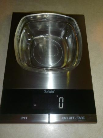 Surpahs digital kitchen scale 6