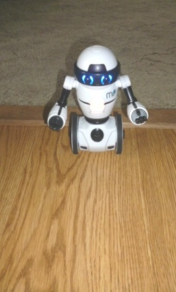 MiP robot even went on carpet