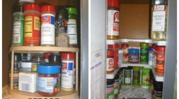 How to Organize your Spice Cupboard easily with the Spicy Shelf