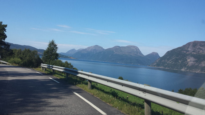 driving to trondheim