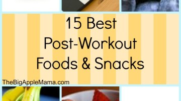 15 Best Post-Workout Foods and Snacks