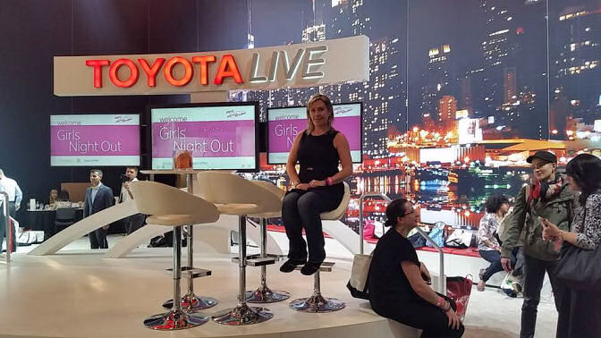 Toyota Live ny international auto show