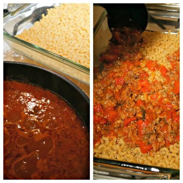 no boil macaroni casserole
