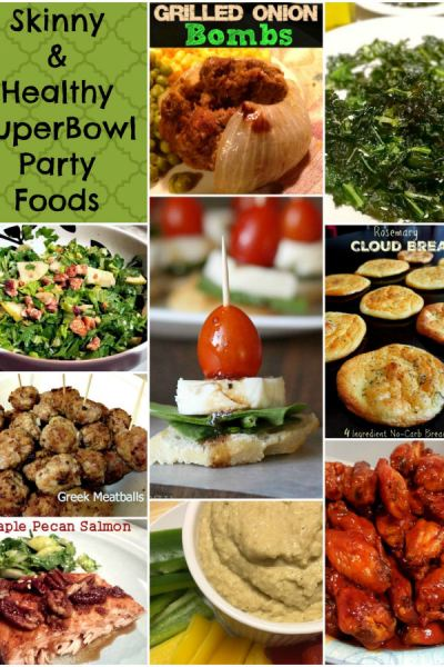 10 Skinny, Tasty and Healthy Super Bowl Recipes