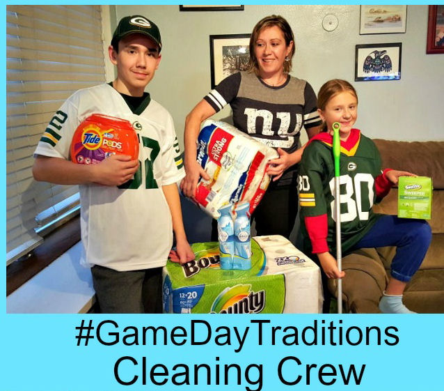 superbowl cleaning crew