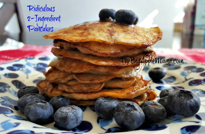 Easy 2-Ingredient Pancake in the World? It Exists!