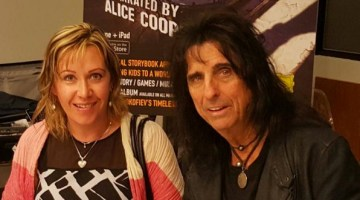 With Alice Cooper and ‪#‎PeterAndTheWolfApp‬ Launch in NYC