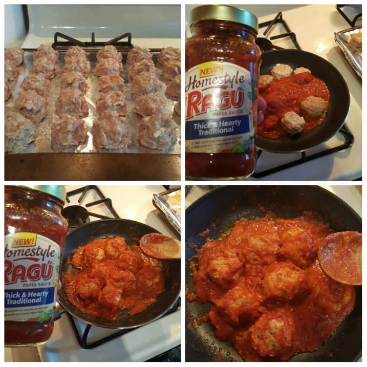 how to make delicious meatloaf meatballs homestyle Ragu