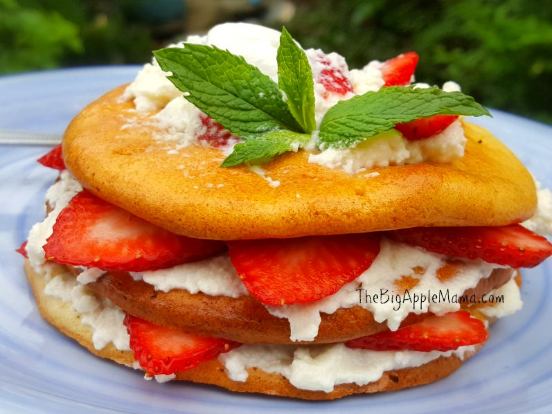 Low Carb Strawberry Shortcake Dessert