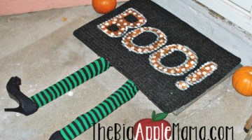 DIY Witch doormat rug to decorate your doorstep | Halloween savings at Walmart.com