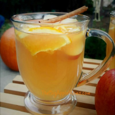 Homemade Spiced Apple Cider – No added sugar or apple juice involved
