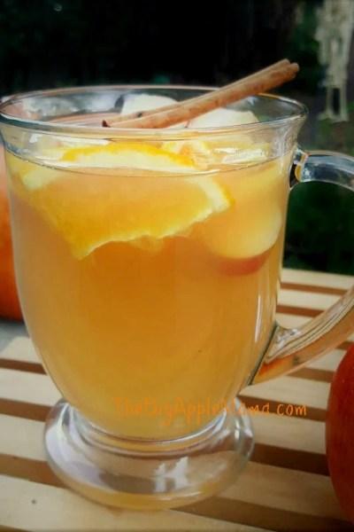 Homemade Spiced Apple Cider – No added sugar or apple juice involved