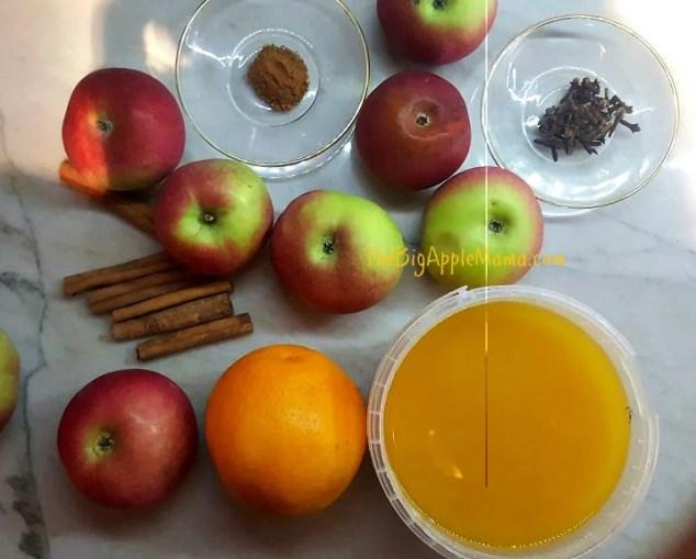 ingredients-for-homemade-spiced-apple-cider