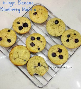 uicy and Low Carb Blueberry muffin