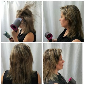how long dyson hair dryer dries hair