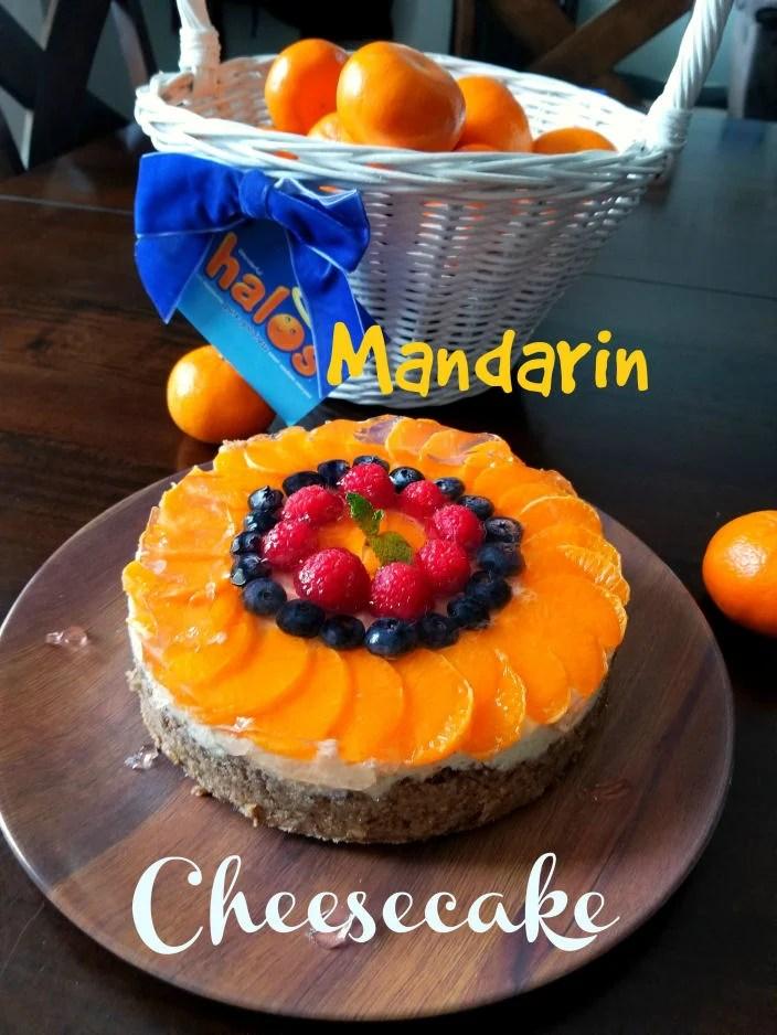 Mandarin Cheesecake, Pressure cooker recipe