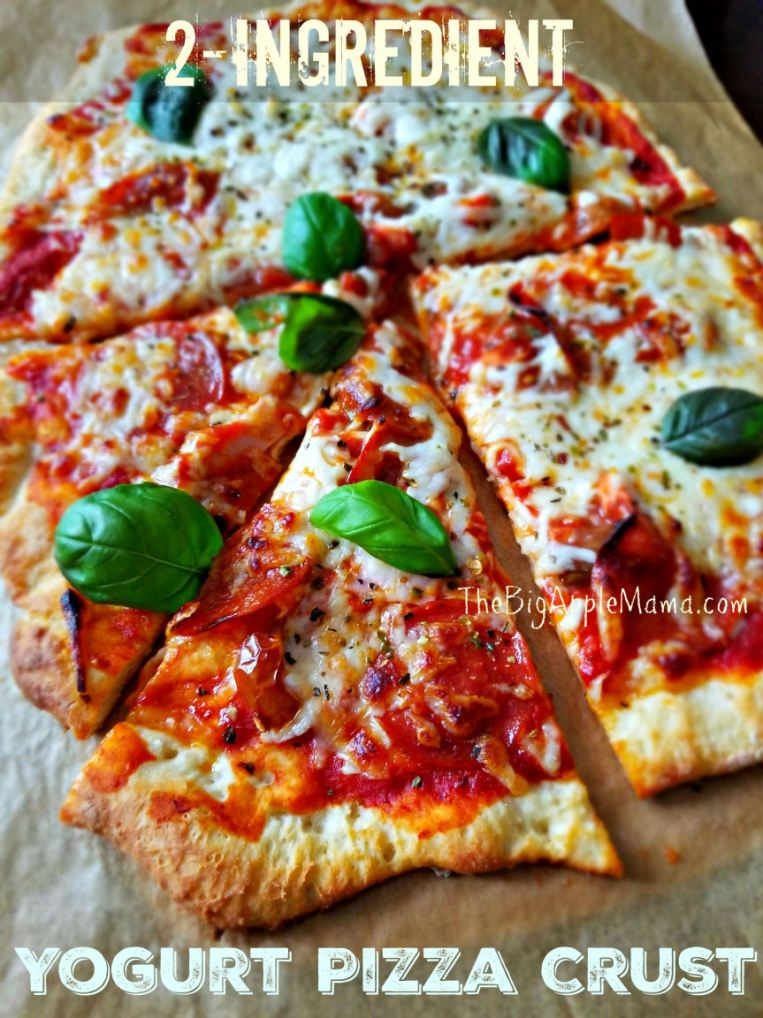 Better than Take-out Crispy Pizza Crust with only 2 ingredients