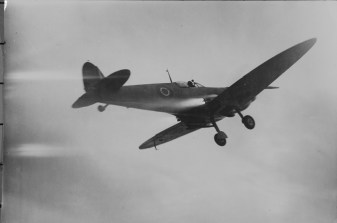 Carrier takeoff in Seafire. Huge success.