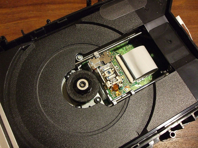 CD or DVD drives