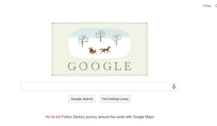 google christmas 2013 doodle