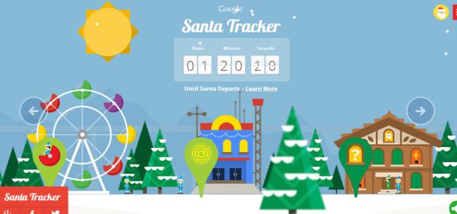 google santa tracker 2013