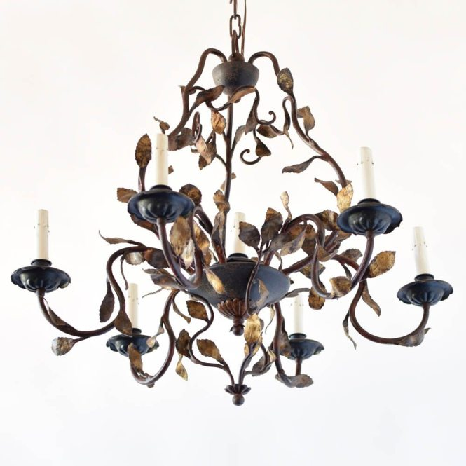 Italian Chandelier With Leaves 1 250