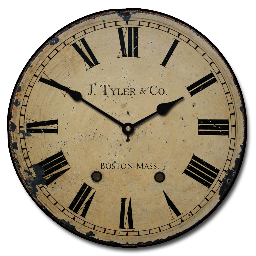 Large Roman Numeral Wall Clocks