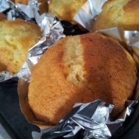Gluten free orange and yogurt muffins