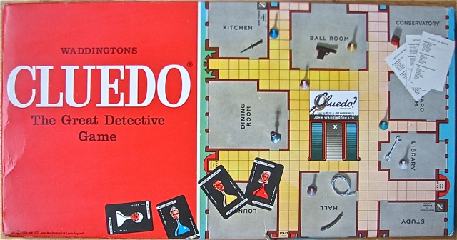 Clue Cluedo The Big Game Hunter