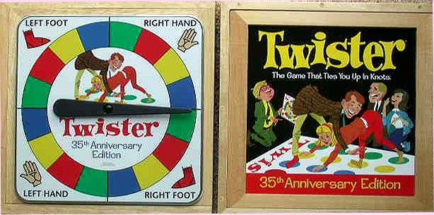 Twister Board Game Box