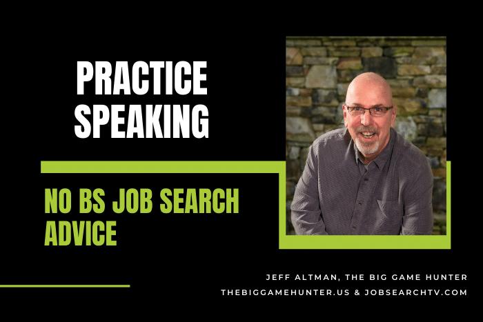 Practice speaking