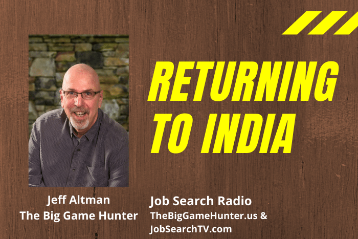 Returning to India