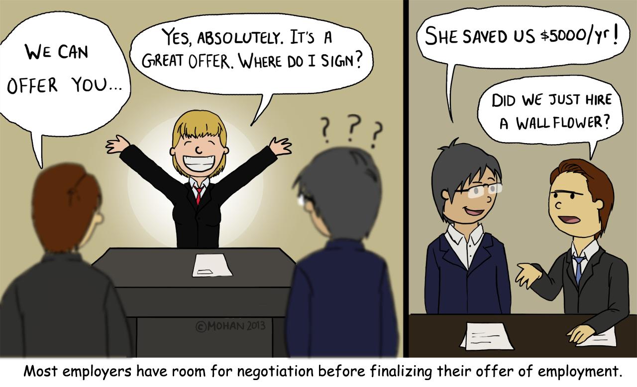 offer salary negotiation