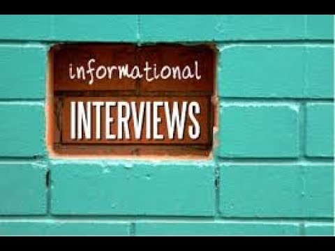 A Few Ideas About Informational Interviews | NoBSJobSearchAdvice.com