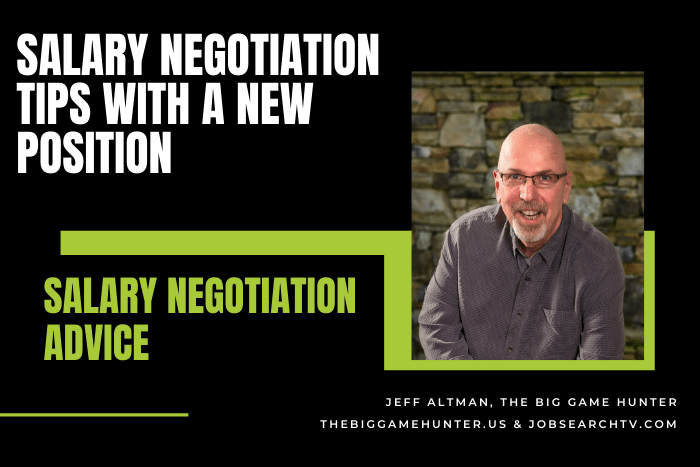 Salary Negotiation Tips With a New Position