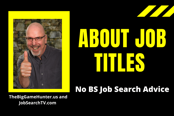 About Job Titles