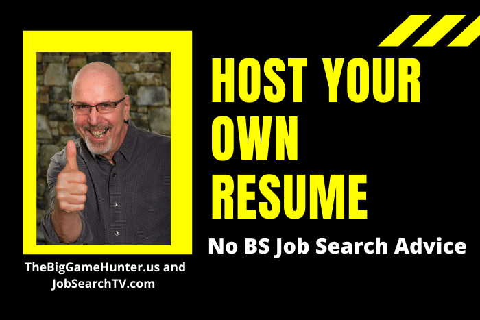 Host Your Own Resume
