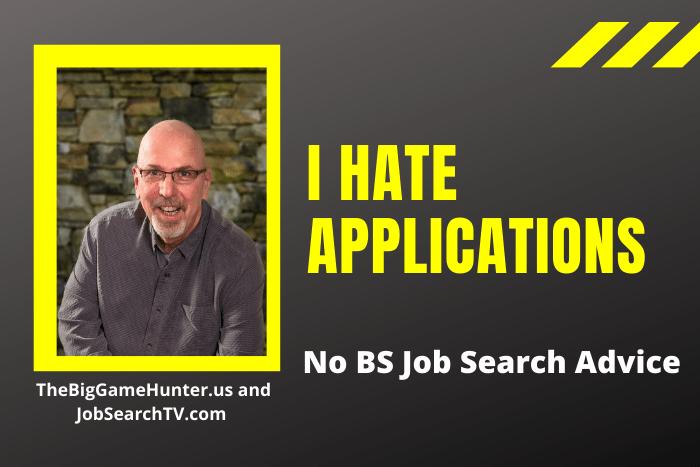 I Hate Applications