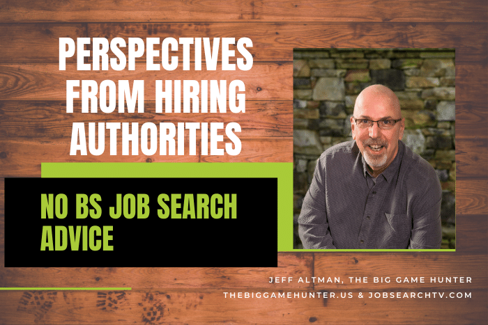 Perspectives from Hiring Authorities
