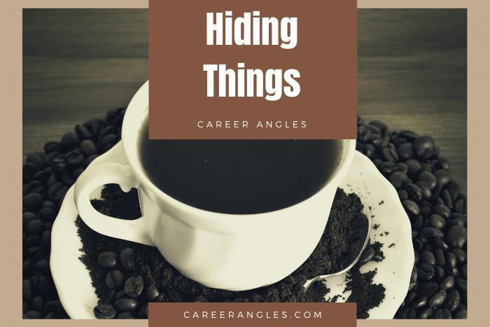 Hiding Things