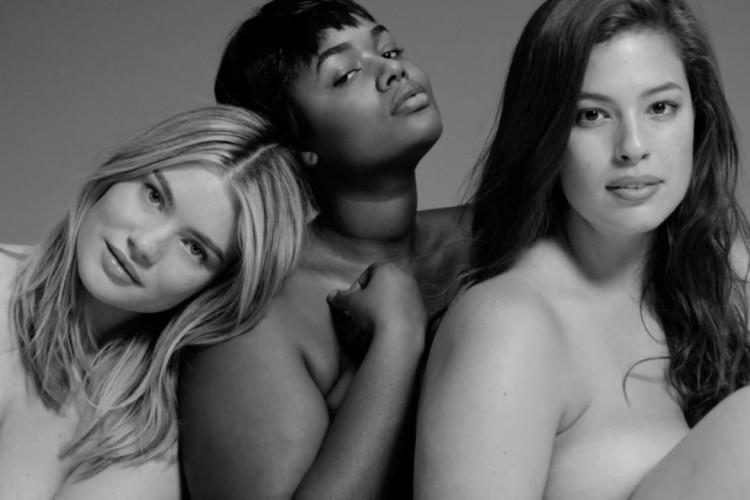 blote plus size vrouwen verbannen