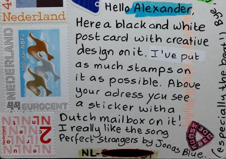 postcard from Nederland