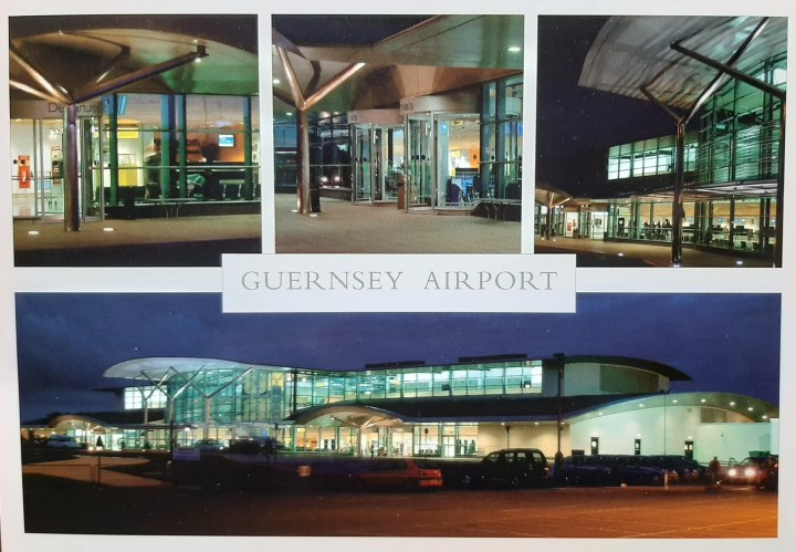 for a small island as you can see Guernsey airport