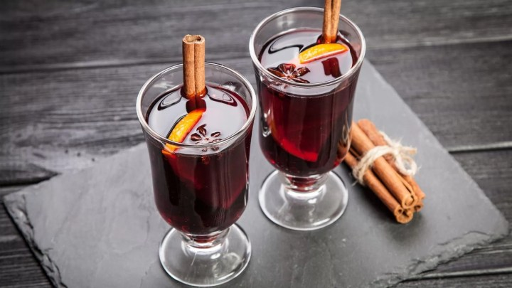 Homemade mulled wine in Guernsey
