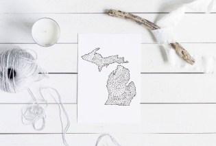 Michigan art