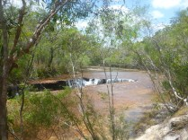 This waterhole was amazing! So great to swim on a hot day.