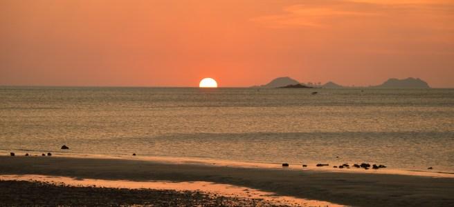 Sunset at Seisa