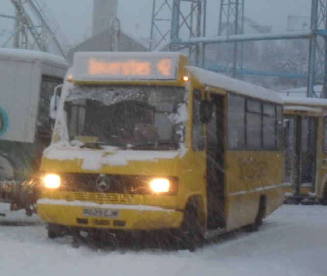 Whatever the weather, a bus goes out just for you